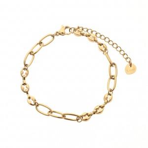 Bransoletka łańcuch, kolor złoty S1V71860-Z
